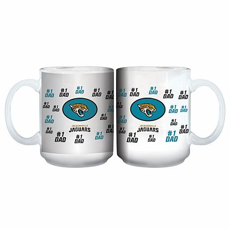 NFL 15 oz. Father's Day Team Mug - Jaguars