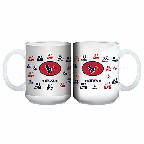 NFL 15 oz. Father's Day Team Mug - Texans