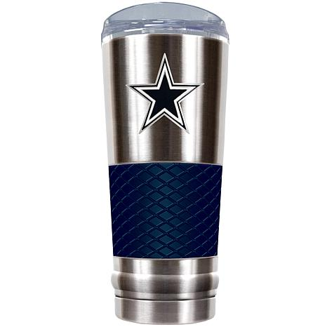 NFL 24 oz. Stainless Steel/Blue Draft Tumbler - Cowboys