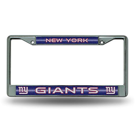 NFL Bling Chrome Frame - Giants