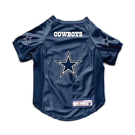 brand new dcab2 73434 NFL Dallas Cowboys Large Pet Stretch Jersey