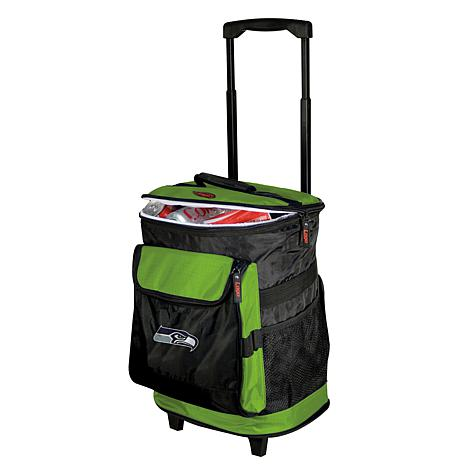 NFL Officially Licensed 48-Can Rolling Backpack Cooler - Seahawks ...
