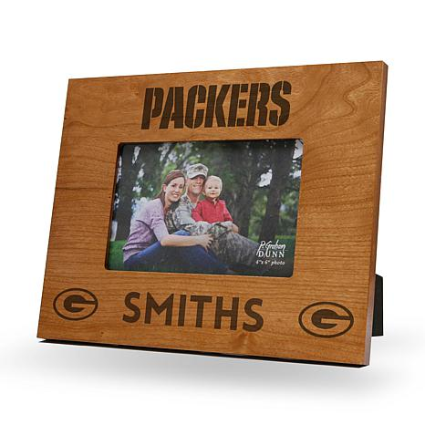 Officially Licensed NFL Sparo Personalized Wood Picture Frame ...