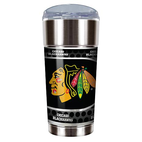NHL 24 oz. Stainless Steel Eagle Tumbler - Blackhawks