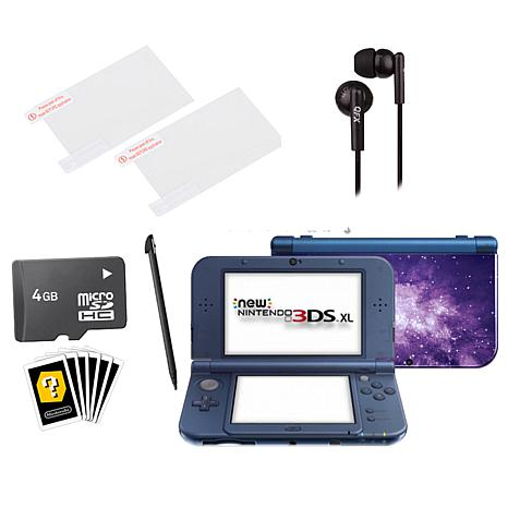 Nintendo 3DS XL Galaxy Handheld Console w/Accessories