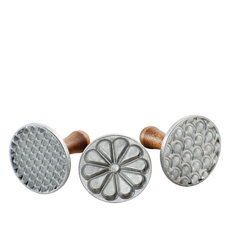 Nordic Ware Set of 3 All-Season Cookie Stamps