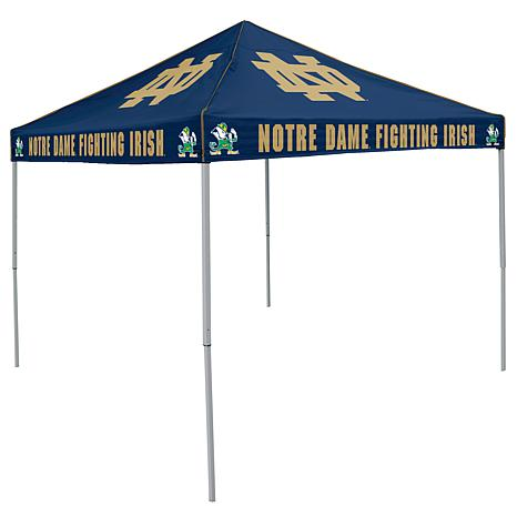 Notre Dame navy Tent