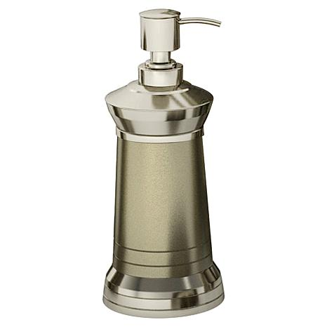 Nu-Steel Lighthouse Matte & Polished Soap/Lotion Dispenser