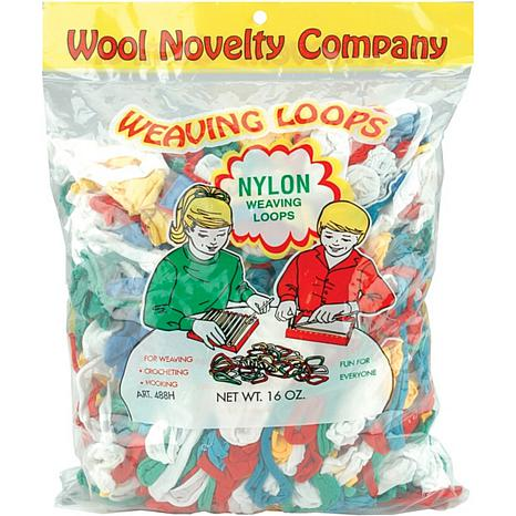 Nylon Weaving Loops 16 oz. - Multi Colors