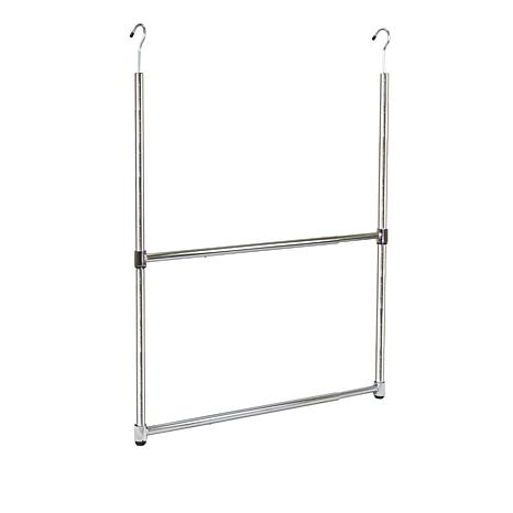 Oceanstar 2-Tier Portable Hanger Rod