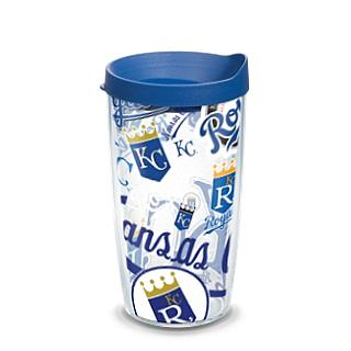 Officially Licensed MLB  KC Royals All Over 16 oz. Tumbler w/Lid