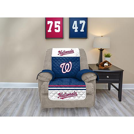 Officially Licensed MLB  Recliner Furniture Protector - Nationals
