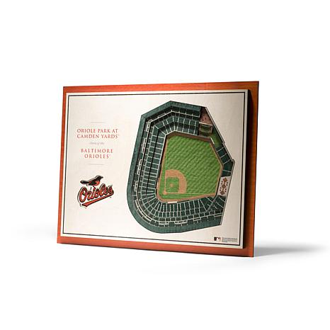 Officially Licensed MLB StadiumView 3D Wall Art - Baltimore Orioles