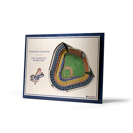 Officially Licensed MLB StadiumViews 3D Wall Art - Los Angeles Dodgers