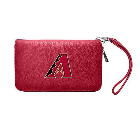 Officially Licensed MLB Zip Organizer Wallet - Arizona Diamondbacks