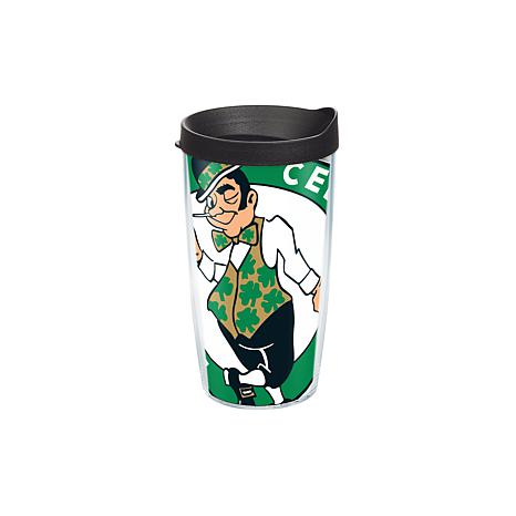 Officially Licensed NBA 16 oz Tumbler and Lid- Boston Celtics
