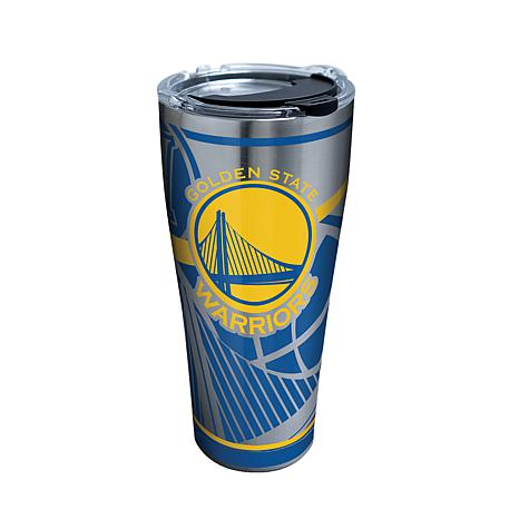 Officially Licensed NBA Stainless Steel Tumbler- Golden State Warriors