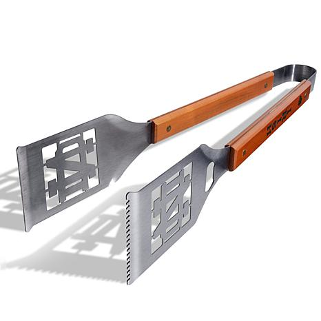 """Officially Licensed NCAA Grill-A-Tongs - Notre Dame """"Leprechaun"""""""