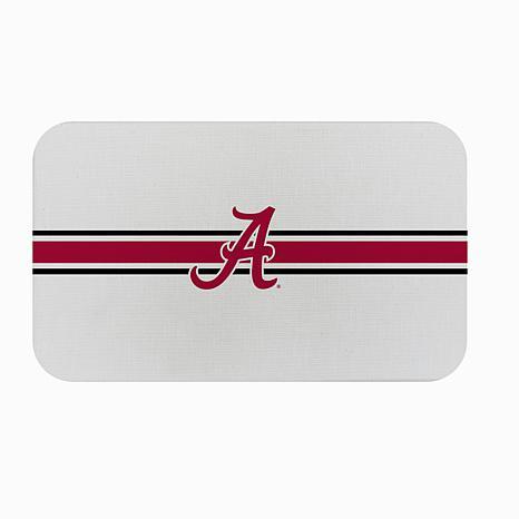"Officially Licensed NCAA Team Logo 18"" x 30"" Burlap Mat-Un. of Alabama"