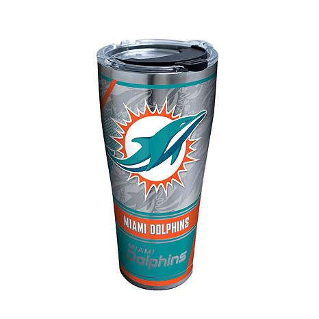Officially Licensed NFL 30oz. Stainless Tervis Edge Tumbler- Dolphins