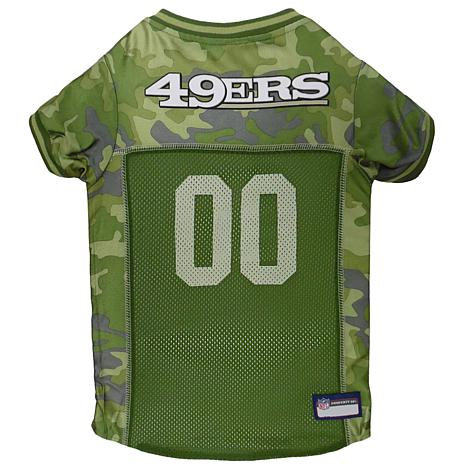 check out 1d6ba 33d98 new! Officially Licensed NFL Camo Jersey - San Francisco 49ers