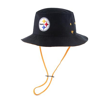 Officially Licensed Nfl Kirby Bucket Hat By '47 Brand   Steelers by Hsn