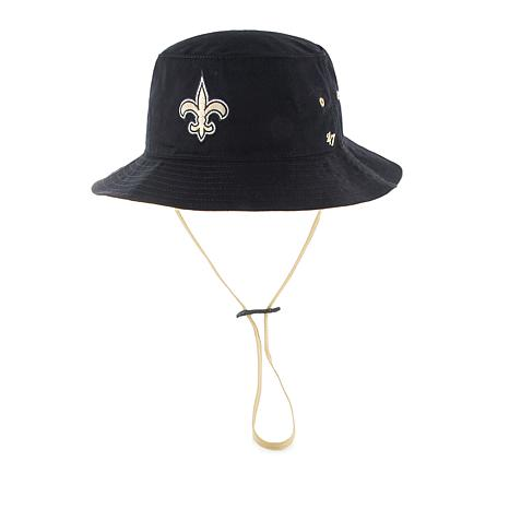 1a869a2af01 Officially Licensed NFL Kirby Bucket Hat by  47 Brand - Saints ...