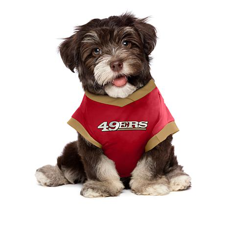 new concept 53e03 852fa Officially Licensed NFL Pet Performance Tee - 49ers
