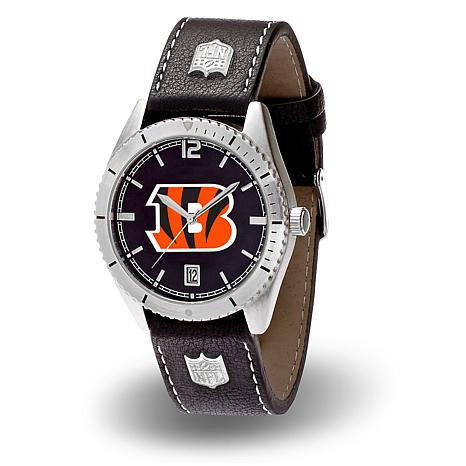 """Officially Licensed NFL Sparo """"Guard"""" Strap Watch - Bengals"""