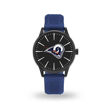 """Officially Licensed NFL Sparo Team Logo """"Cheer"""" Strap Watch - Rams"""