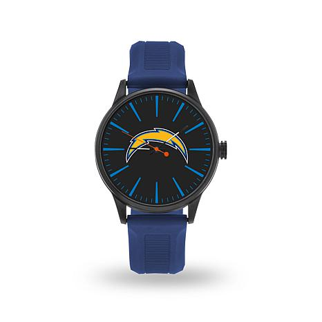 "Officially Licensed NFL Sparo Team Logo ""Cheer"" Strap Watch - Chargers"