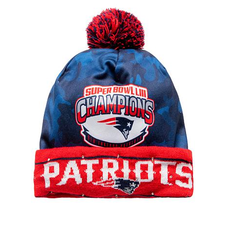 bd4c7dd4121 Officially Licensed NFL Super Bowl LIII Champions Light-Up Beanie ...