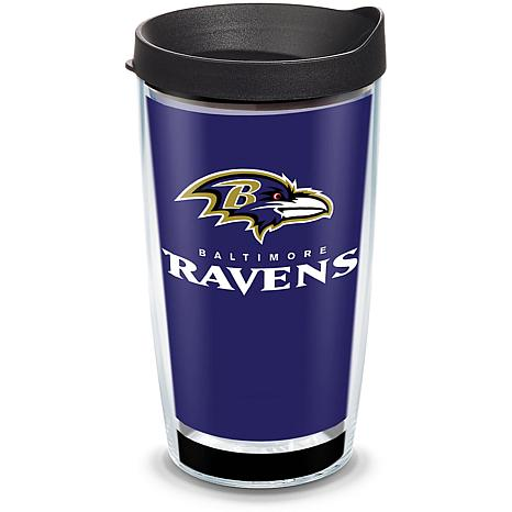 Officially Licensed NFL Touchdown  Tumbler w/ Lid - Baltimore Ravens