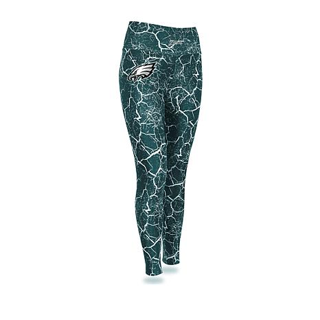 Officially Licensed NFL Women's Marble Crackle Legging by Zubaz