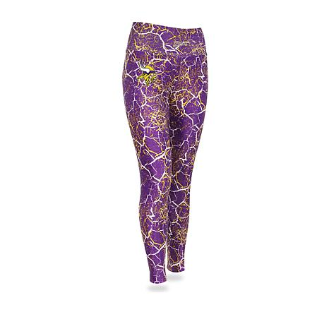 376f453dfccb6 Officially Licensed NFL Women's Marble Crackle Legging by Zubaz ...