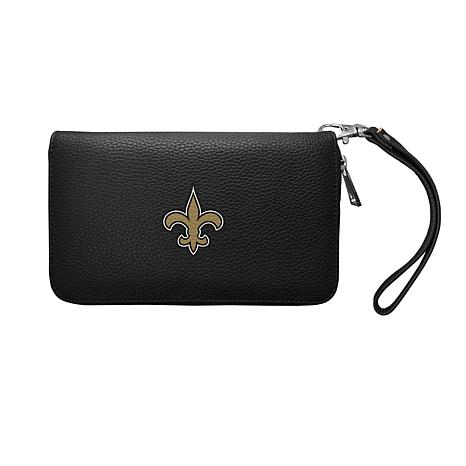 Officially Licensed NFL Zip Organizer Wallet - New Orleans Saints