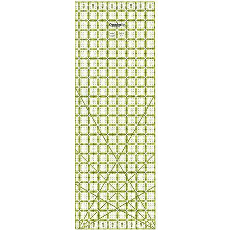 Omnigrip Non-Slip Quilter's Ruler - 8-1/2X24