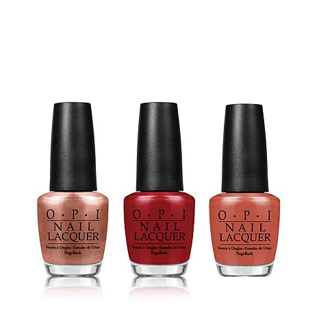 OPI Suzi's Fall Picks 3-pc Lacquer Set