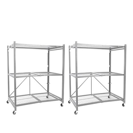 Origami 2-pack of 3-Tier Heavy Duty Racks - Up to 750 lbs. Capacity