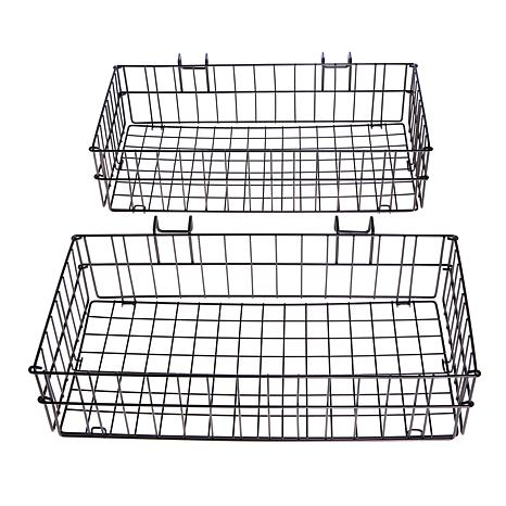 Origami 2-pack Steel Side Baskets