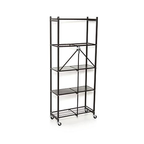 Bon Origami 5 Tier Folding Pantry Rack   8090504 | HSN