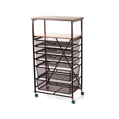 Origami Foldable 6 Drawer Craft Cart 8413606 Hsn
