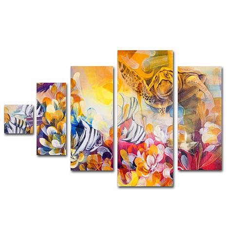 Palacios 'Key Largo' Multi-Panel Art Collection