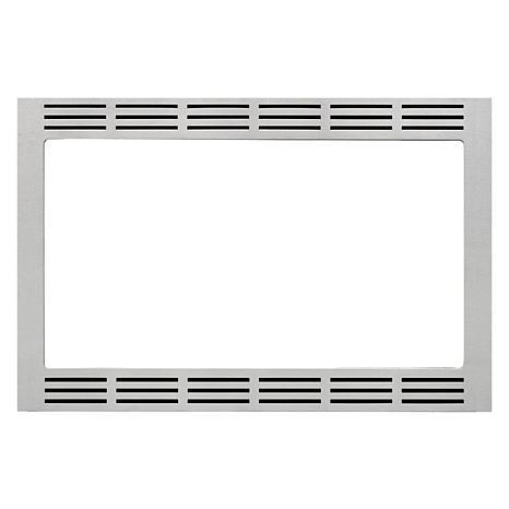 """Panasonic 27"""" Stainless Steel Microwave Trim Kit"""