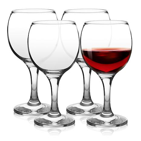 Pasabahce Bistro 4 Piece 9.75 Ounce Wine Glass Set