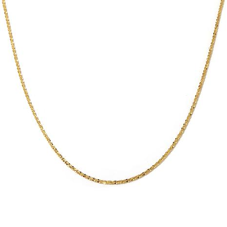 "Passport to Gold 14K 1.5mm Sparkle Chain 16"" Necklace"
