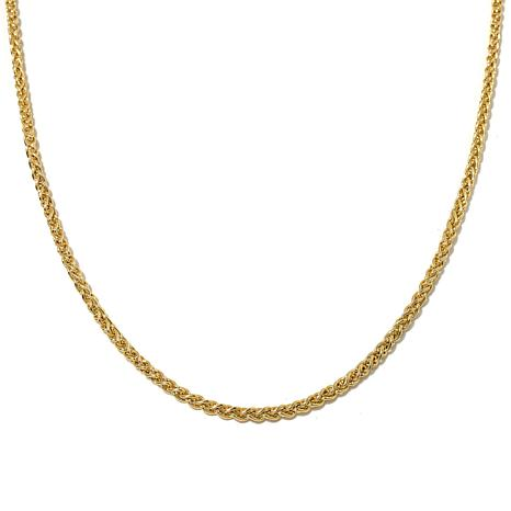 "Passport to Gold 14K 2.8mm Wheat-Chain 18"" Necklace"