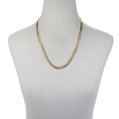dp link diamond a smooth made necklace usa cuban cut chain with gold