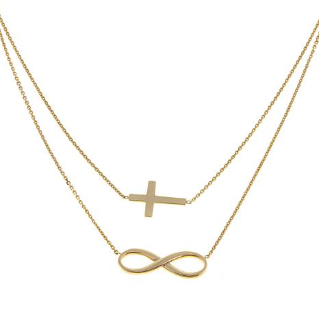 shacal s shacalsandco necklaces jewelry infinity cross pendant collections watches products necklace