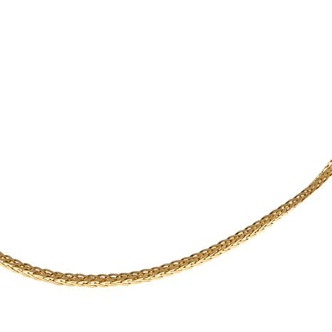 "Passport to Gold 14K Spiga Chain 16"" Necklace"